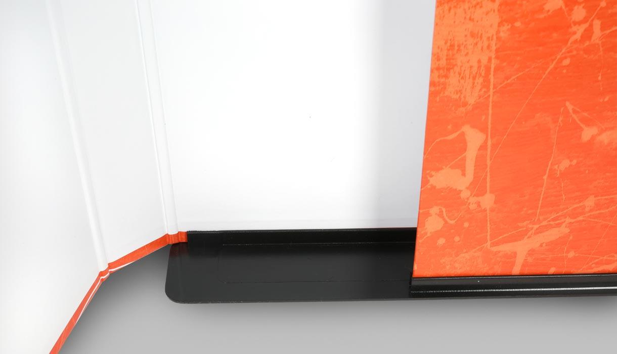 Magazinbox, Heftbox, online drucken, Kappen,