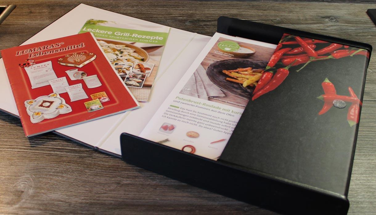 Kappenbox, Verpackung Magazine, Prospektverpackung, Magazinbox, Heftbox, online drucken, Kappen,