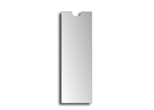 Rückenschildtasche 6 x 19 cm (174910)